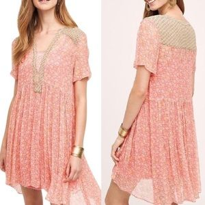 Anthro Maeve Swing Dress S